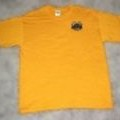 <p><strong>Yellow Crew Neck Tee with Logo<br /></strong></p> <p><strong>S-XL $10.00</strong><br /><strong>2XL-3XL $12.00</strong></p>