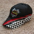 <p><strong>Checkered Flag Cap with Logo $10.00<br />Checkered Flag Cap with Logo and Name $12.00<br /></strong></p> <p><strong>Adjustable size</strong></p>