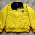 <p><strong>Yellow Fleece-Lined Jacket<br />Windproof and water resistant shell with warm fleece lining. Two front pockets with zippers. Stretch cuffs and waistband.<br /></strong></p>